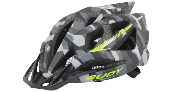 Rudy Project Airstorm Helme Grey Camo-Lime Fluo (Matte)